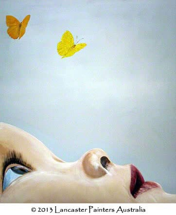 Artistic Finishes - Butterfly Kisses Art