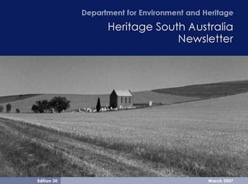 Heritage SA Newsletter March 07