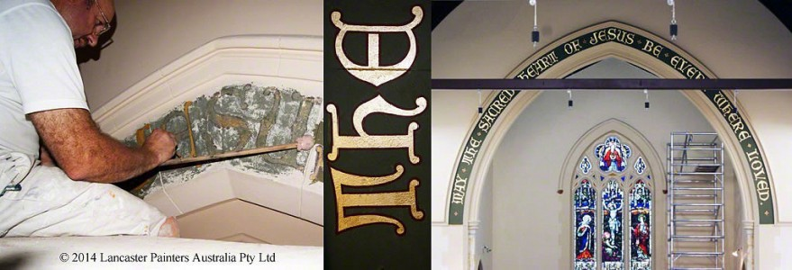 Historic Signage Reconstruction and Gilding
