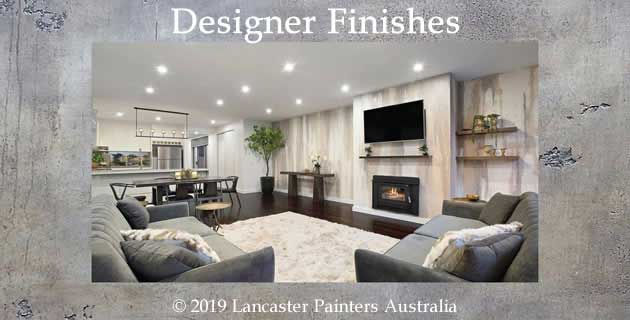 Lancaster Painters Australia Designer Finishes