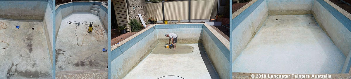 Largs Bay Swimming Pool Preparation